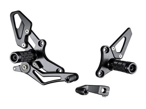 B004 - BONAMICI RACING BMW R nineT / R1200R Adjustable Rearset