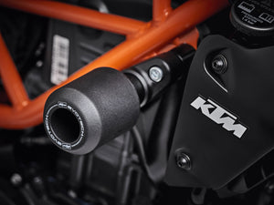 EVOTECH KTM 125 / 250 / 390 Duke Frame Crash Protection Sliders