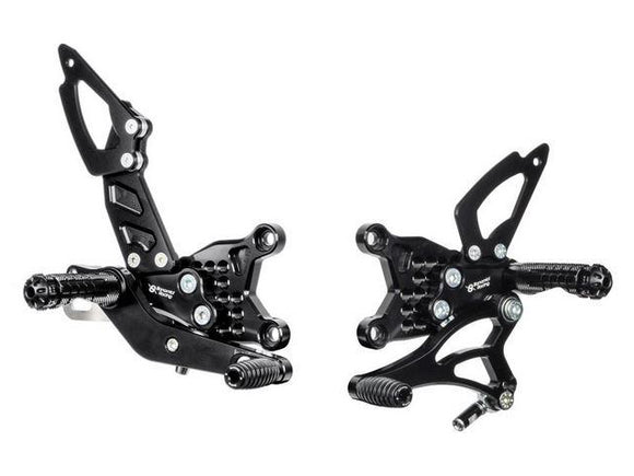 A003 - BONAMICI RACING Aprilia RSV4 / Tuono V4 (09/16) Adjustable Rearset