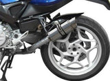 DELKEVIC BMW F800S / F800ST Slip-on Exhaust Mini 8""