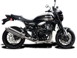 "DELKEVIC Kawasaki Z900RS Full Exhaust System with Stubby 18"" Silencer"