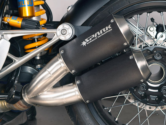 SPARK BMW R nineT Double Slip-on Exhaust
