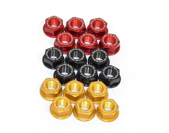 6DSB03 - DUCABIKE Ducati Rear Sprocket Carrier Nuts set