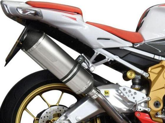 DELKEVIC Aprilia RSV 1000 R / Tuono V2 Slip-on Exhaust 13.5