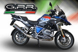 "GPR BMW R1250GS Slip-on Exhaust ""Evo 4 Carbon"" (EU homologated)"