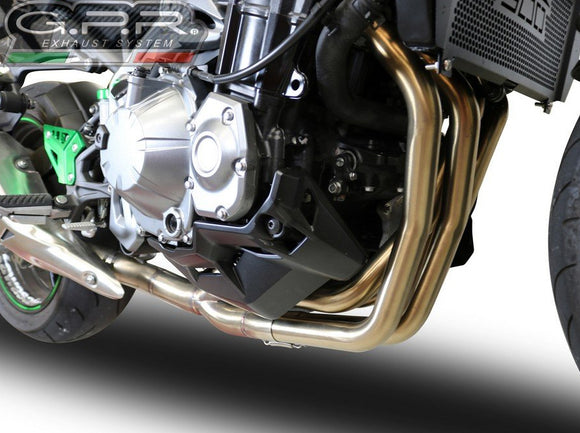 GPR Kawasaki Z900 (2020 – ) Collector Pipes (racing)