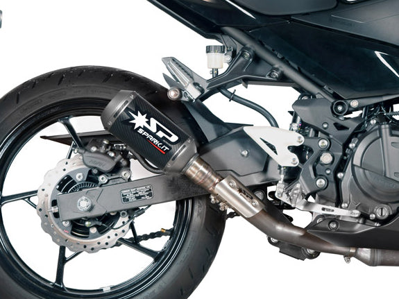 SPARK Kawasaki Ninja 400 Slip-on Exhaust
