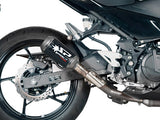 "SPARK Kawasaki Ninja 400 Slip-on Exhaust ""MotoGP"" (racing; carbon)"