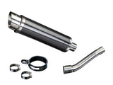 "DELKEVIC Honda CBR250R Full Exhaust System with DL10 14"" Carbon Silencer"