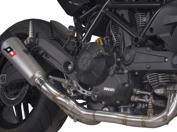 QD EXHAUST Ducati Monster 797 Full Exhaust System
