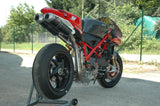 "QD EXHAUST Ducati Superbike 1098/1198/848 Dual Slip-on Exhaust ""Magnum"" (EU homologated)"