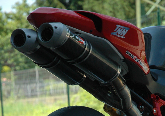 QD EXHAUST Ducati Superbike 1098/1198/848 Dual Slip-on Exhaust