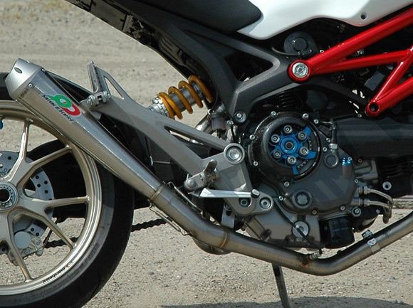 QD EXHAUST Ducati Monster 1100/1100 Evo Full Exhaust System