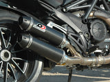 "QD EXHAUST Ducati Diavel 1200 Dual Slip-on Exhaust System ""Magnum"""