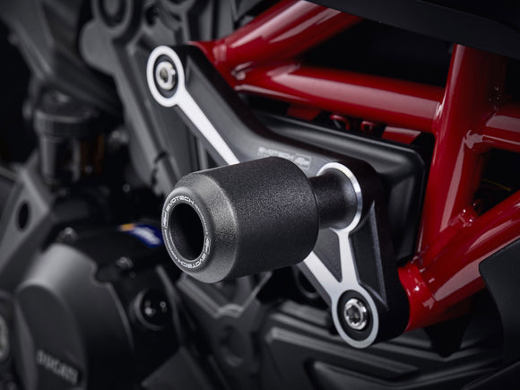 EVOTECH Ducati Diavel / XDiavel Frame Crash Protection Sliders