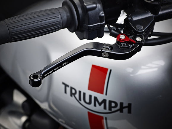 EVOTECH Triumph Handlebar Levers (Long, Folding)