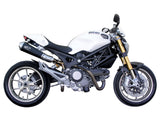 "SPARK Ducati Monster 696/796/1100 Slip-on Exhaust ""Megaphone"" (EU homologated)"