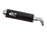 "SPARK Ducati Hypermotard 796 Slip-on Exhaust ""Oval"" (EU homologated)"