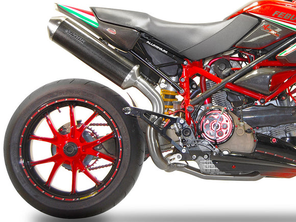 SPARK Ducati Hypermotard 796 Slip-on Exhaust