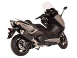 "SPARK Yamaha TMAX 500 (00/07) Full Exhaust System ""Force"" (EU homologated; dark)"