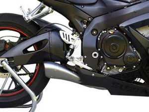 "HP CORSE Suzuki GSX-R600 / GSX-R750 (06/07) Slip-on Exhaust ""Hydroform Satin"" (EU homologated)"