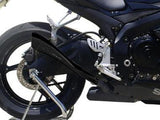 "HP CORSE Suzuki GSX-R600 / GSX-R750 (08/10) Slip-on Exhaust ""Hydroform Black"" (EU homologated)"