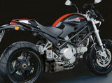 "QD EXHAUST Ducati Monster S2R Full Exhaust System ""Ex-Box"" (EU homologated)"