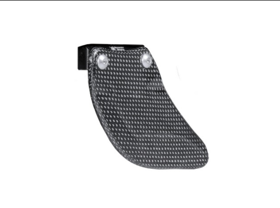 ICP - BONAMICI RACING Lower Swingarm Chain Guard (Carbon/Aluminium)