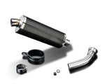 "DELKEVIC BMW K1200S Slip-on Exhaust Stubby 14"" Carbon"