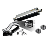"DELKEVIC BMW R1200GS (04/09) Slip-on Exhaust Stubby 17"" Tri-Oval"