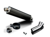 "DELKEVIC BMW K1300GT (09/11) Slip-on Exhaust Stubby 18"" Carbon"