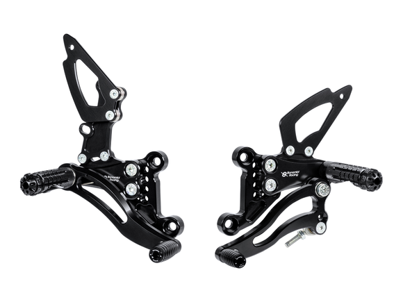 TH02 - BONAMICI RACING Triumph Speed Triple 1050 (05/10) Adjustable Rearset