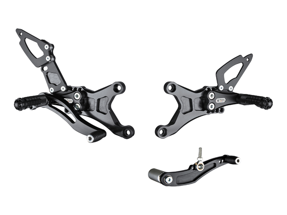 Y006 - BONAMICI RACING Yamaha YZF-R1 (07/08) Adjustable Rearset