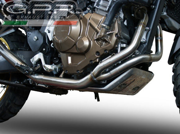 GPR Honda CRF1000L Africa Twin Adventure Sports (18/19) Front Manifold/Decat Pipe (racing)