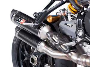 "QD EXHAUST Ducati Monster 1200S Full Dual Exhaust System ""Magnum"" (EU homologated)"
