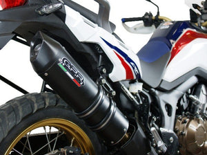 "GPR Honda CRF1000L Africa Twin Slip-on Exhaust ""Furore Nero"" (EU homologated)"
