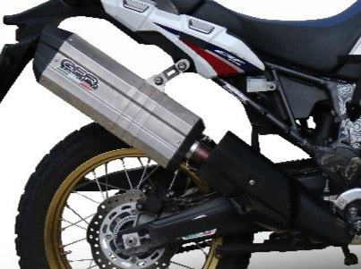 GPR Honda CRF1000L Africa Twin Adventure Sports (18/19) Slip-on Exhaust