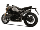 "HP CORSE BMW R nineT Slip-on Exhaust ""Evoxtreme Black Single High"" (EU homologated)"