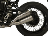 "HP CORSE BMW R nineT Dual Slip-on Exhaust ""GP-07 Satin"" (EU homologated)"