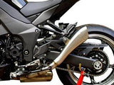 "HP CORSE Kawasaki Ninja 1000 / Z1000 Dual Slip-on Exhaust ""Hydroform Satin"" (EU homologated)"