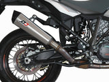 "QD EXHAUST KTM 1290 Super Adventure Slip-on Exhaust ""Magnum"" (EU homologated)"