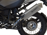 "HP CORSE BMW R1200GS (04/09) Slip-on Exhaust ""4-Track R Satin"" (EU homologated)"