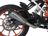 "HP CORSE KTM 390 Duke Slip-on Exhaust ""Evoxtreme Satin"" (racing only)"