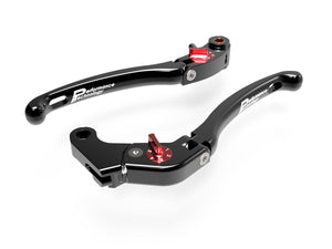 "LE06 - PERFORMANCE TECHNOLOGY Aprilia / Yamaha Adjustable Handlebar Levers ""Eco GP 1"""
