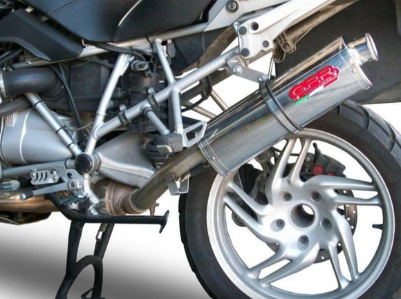 GPR BMW R1200GS (04/09) Slip-on Exhaust