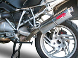 "GPR BMW R1200GS (04/09) Slip-on Exhaust ""Trioval"" (EU homologated)"