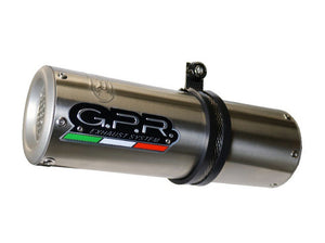 "GPR Honda NC700X / NC700S (12/13) Slip-on Exhaust ""M3 Inox"" (EU homologated)"