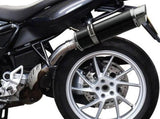 "DELKEVIC BMW F800GT Slip-on Exhaust DL10 14"" Carbon"