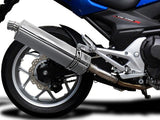 "DELKEVIC Honda NC700 / NC750 (12/19) Slip-on Exhaust Stubby 17"" Tri-Oval"
