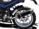"DELKEVIC BMW R1200R (06/10) Slip-on Exhaust DL10 14"" Carbon"